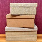 Décorer un espace avec des boîtes en carton !